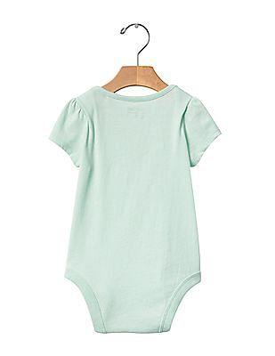 GAP Baby Green I Love You Bodysuit