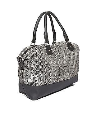 SUGR Colour Block Patterned Hand Bag