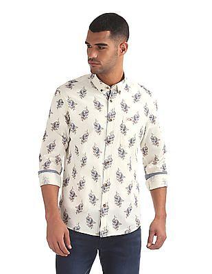 U.S. Polo Assn. Denim Co. Slim Fit Paisley Print Shirt