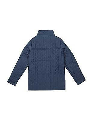 Elle Kids Girls Quilted Padded Jacket