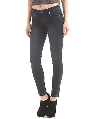 EdHardy Women Skinny Fit Stone Wash Jeans