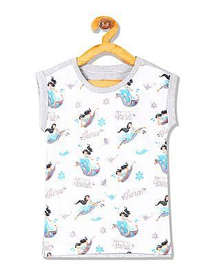 Colt Girls Jasmine Print Knit Top