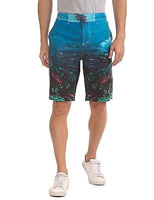 Aeropostale Printed Board Shorts