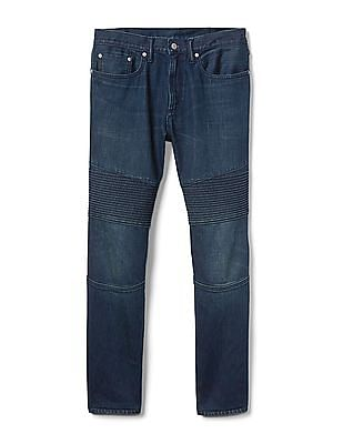 GAP Indestructible Moto Slim Fit Stretch Jeans