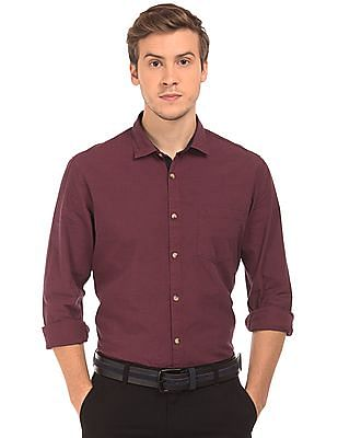 Ruggers Contemporary Fit Fil-A-Fil Shirt