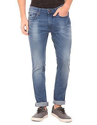 Ed Hardy Medium Wash Super Slim Fit Jeans