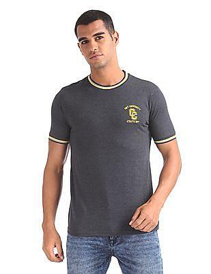 Colt Heathered Round Neck T-Shirt