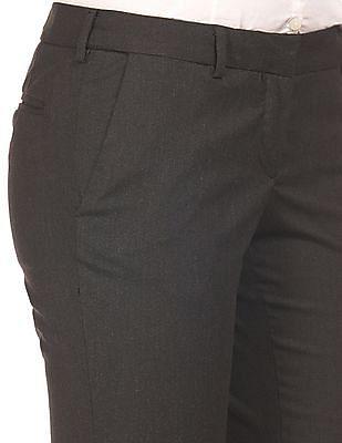 Arrow Woman Autoflex Waist Tapered Fit Trousers