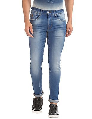 U.S. Polo Assn. Denim Co. Washed Skinny Jeans
