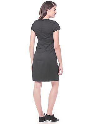 Arrow Woman Panelled Sheath Dress