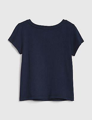 GAP Toddler Girl Graphic Short Sleeve T-Shirt