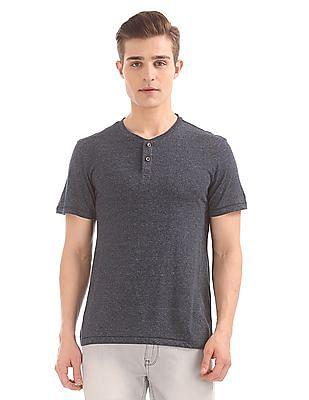 Arrow Sports Grindled Henley T-Shirt