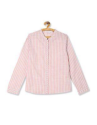 Arrow Woman Regular Fit Stripe Shirt