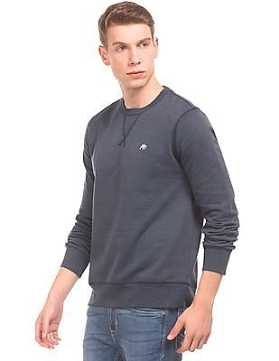 Aeropostale Solid Long Sleeved Sweatshirt