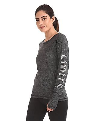 SUGR Heathered Active Top