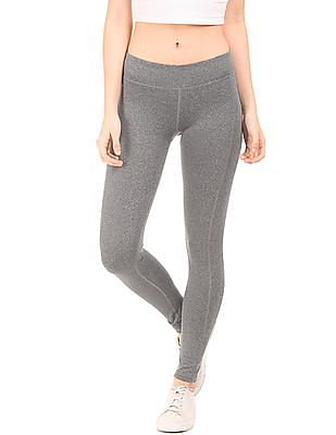Aeropostale Heathered Active Leggings
