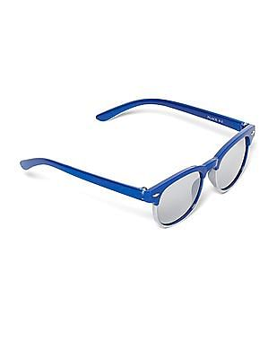 The Children's Place Blue Boys Stylized Square Frame Sunglasses