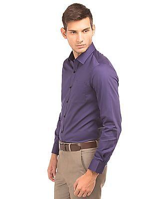 Arrow Semi Cutaway Slim Fit Shirt