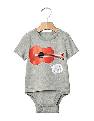 GAP Baby Statement Graphic Body Double