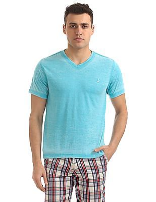 Bayisland V-Neck Washed T-Shirt