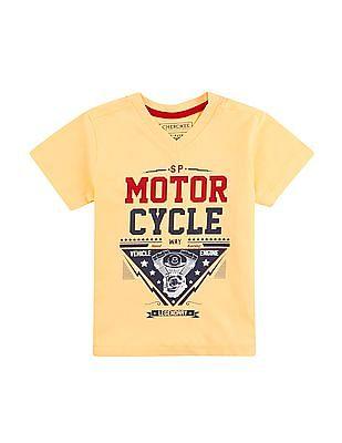 Cherokee Boys Cotton T-Shirt - Pack Of 3
