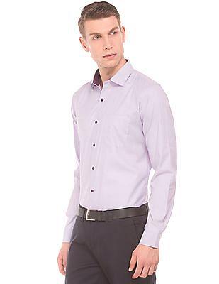 Excalibur Classic Fit Jacquard Shirt