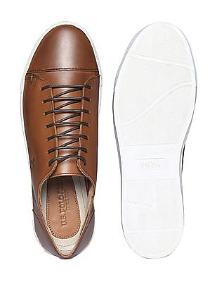 U.S. Polo Assn. Cap Toe Leather Sneakers