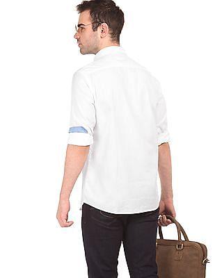Izod Solid Slim Fit Shirt