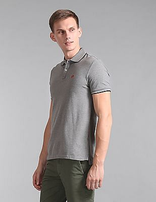 GAP Short Sleeve Tipped Polo Shirt