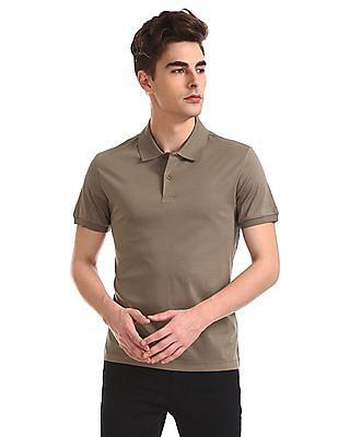 Arrow Regular Fit Short Sleeve Polo Shirt