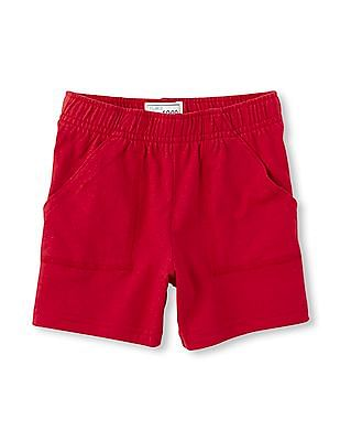 The Children's Place Toddler Boy Matchables Knit Utility Shorts