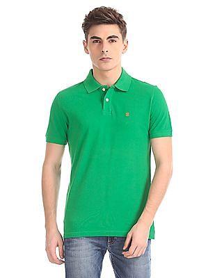 Izod Short Sleeve Solid Polo Shirt