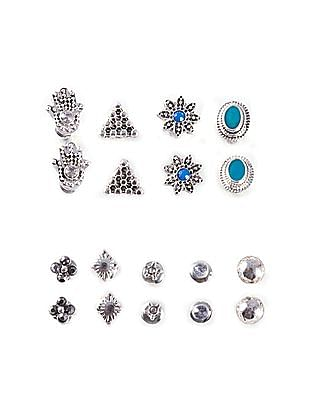 Aeropostale Stud Earrings - Set Of 9
