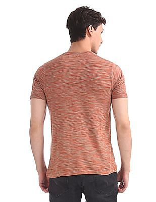 Cherokee Slim Fit Space Dyed T-Shirt