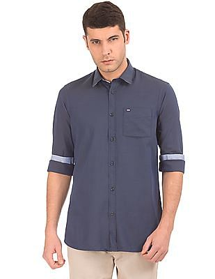 Arrow Sports Two Tone Slim Fit Shirt