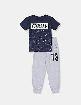 Cherokee Boys Assorted T-Shirt And Joggers Set