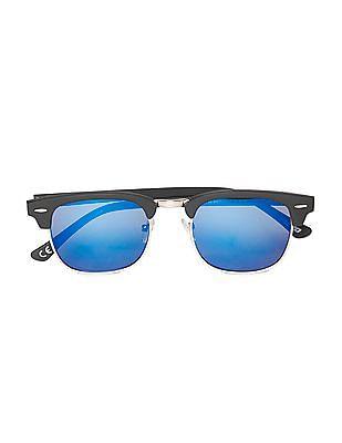 Aeropostale Square Frame Mirror Sunglasses