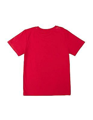 Cherokee Boys Short Sleeve Cotton T-Shirt