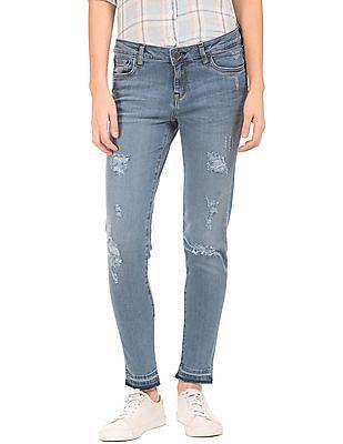Aeropostale Slim Fit Stone Wash Jeans