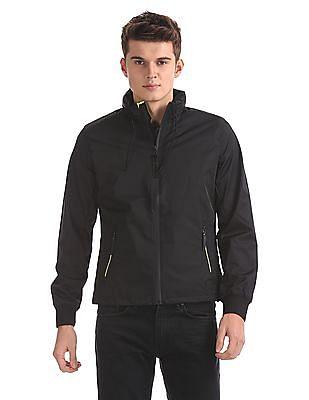 Ed Hardy Solid Full Sleeve Hooded Jacket