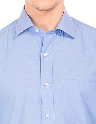 Arrow Patterned Cotton Shirt