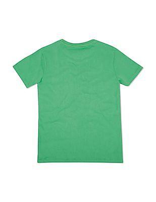 FM Boys Slim Fit Crew Neck T-Shirt