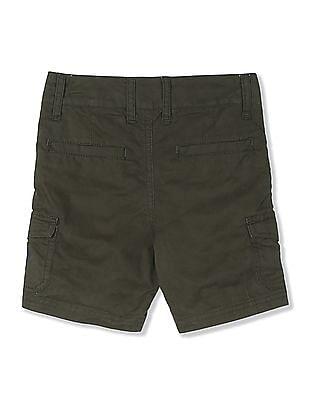 Cherokee Green Boys Woven Cargo Shorts