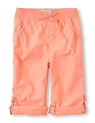 The Children's Place Baby Rolled Hem Beach Pants