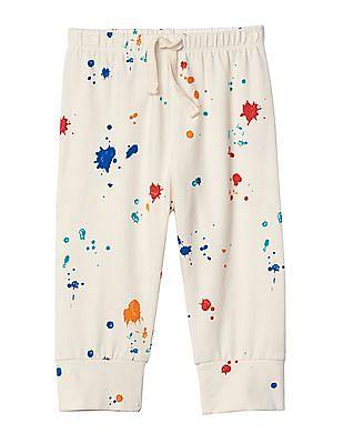 GAP Baby Print Stretch Jersey Pants