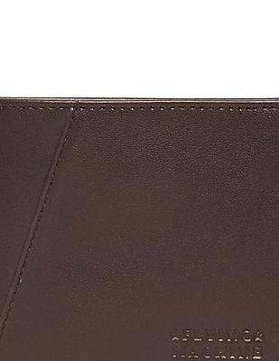 Flying Machine Leather Bi-Fold Wallet