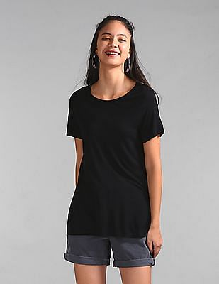 GAP Short Sleeve T-Shirt In Luxe Jersey