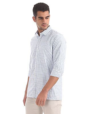 Excalibur Spread Collar Check Shirt