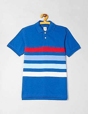 9c7b19462b Buy Boys 000000044137998500 Baltic Blue Boys T-Shirt online at ...