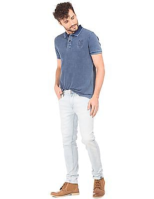 Ed Hardy Ice Wash Slim Fit Jeans
